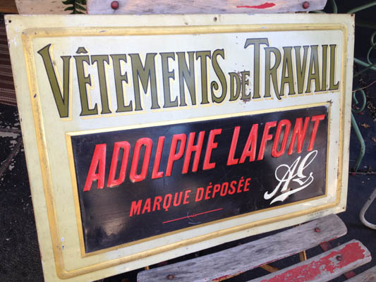 French Sign #AdolpheLafont